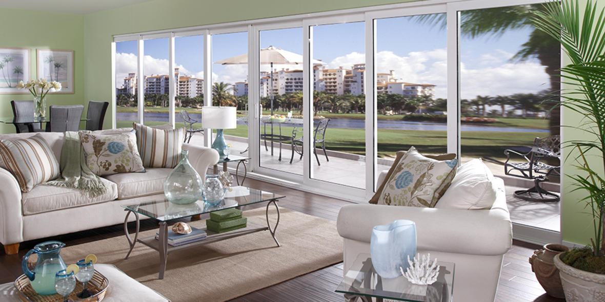 Sliding Glass Doors, Port St. Lucie, Impact Hurricane Doors